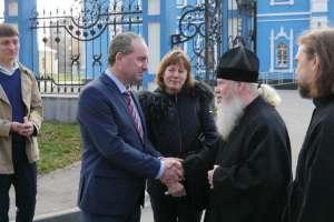 Глава митрополии встретился с министром экономики Баварии