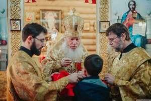 Митрополит Иосиф совершил литургию в Александро-Невском храме города Ульяновска