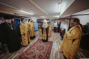 Начал работу склад гуманитарной помощи «БЛАГОСТЫНЯ» Симбирской епархии