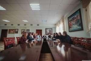 28 ноября состоялась встреча митрополита Иосифа с руководителем Агентства ЗАГС Ульяновской области