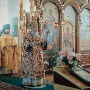 24 ноября, в Неделю 23-ю по Пятидесятнице в митрополит Иосиф посетил Преображенский храм р.п. Новоспасское