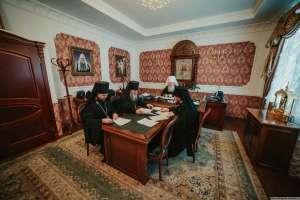 3 декабря состоялось очередное заседание Архиерейского совета Симбирской митрополии