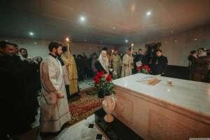 В день тезоименитства митрополита Прокла (Хазова) на его могиле была совершена панихида