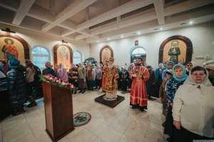 9 декабря митрополит Симбирский и Новоспасский Иосиф посетил храм в честь великомученика Георгия Победоносца г. Ульяновска