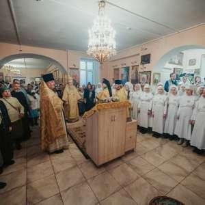 14 декабря митрополит Иосиф посетил храм в честь праведного Филарета Милостивого г. Ульяновска