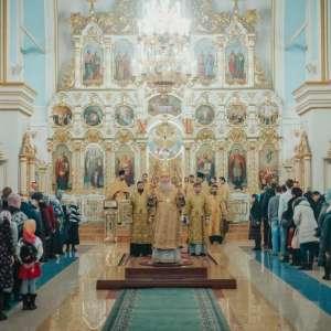 В Неделю 26-ю по Пятидесятнице, митрополит  Иосиф возглавил богослужения в Спасо-Вознесенском кафедральном соборе г. Ульяновска