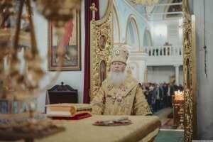 В Неделю 24-ю по Пятидесятнице, митрополит Иосиф совершил богослужения в Спасо-Вознесенском кафедральном соборе г. Ульяновска