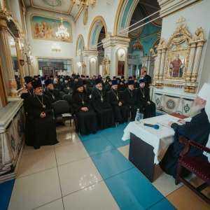 20 декабря состоялось годовое епархиальное собрание духовенства Симбирской епархии