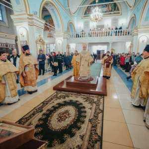 22 декабря, в Неделю 27-ю по Пятидесятнице, митрополит Симбирский и Новоспасский Иосиф совершил богослужения в Спасо-Вознесенском кафедральном соборе г. Ульяновска