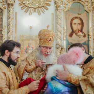 28 декабря, в день памяти священномученика Илариона архиепископа Верейского, митрополит Иосиф совершил праздничные богослужения в Спасо-Вознесенском кафедральном соборе