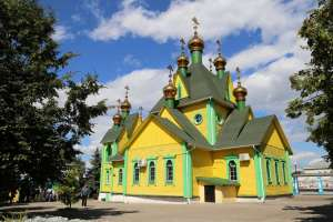 Храм в честь Всех Святых г. Ульяновска