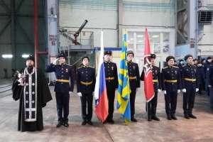 В Ульяновске освятили новый самолёт ИЛ-76МД, собранный на заводе «Авиастар-СП»