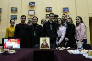 Молодежи поселка Майна рассказали о житие и подвигах святого блаженного Андрея Симбирского