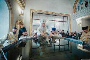 18 января, в навечерие Богоявления, крещенский сочельник, митрополит Иосиф совершил богослужения в Спасо-Вознесенском кафедральном соборе г. Ульяновска