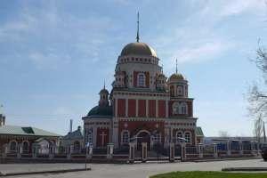 Храм в честь Живоначальной Троицы г. Новоульяновска