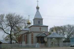 Храм в честь Богоявления с. Новые Алгаши