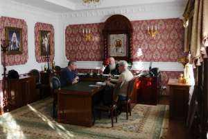 26 февраля состоялась встреча митрополита Иосифа с членами Союза филателистов России