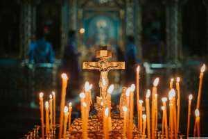 В субботу четвёртой седмицы Великого поста в храмах Симбирской епархии прошли заупокойные богослужения