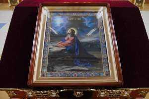 Архипастырь совершил Утреню с чтением жития преподобной Марии Египетской и Великого покаянного канона преподобного Андрея Критского