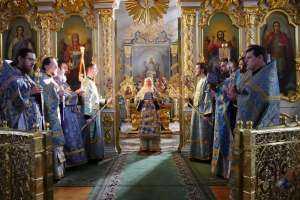 Празднование Похвалы Пресвятой Богородицы в Ульяновске