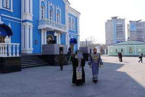 4 апреля вокруг Симбирска совершен объезд с чтимыми святынями