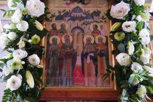 Состоялся чин малого освящения надвратного храма Спасского женского монастыря