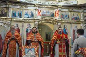 Празднование перенесения мощей святителя Николая из Мир Ликийских в Бар-град в р.п. Сурское