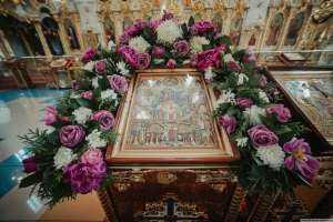 В Симбирске отметили празднование соборной памяти Всех святых, в земле Русской просиявших