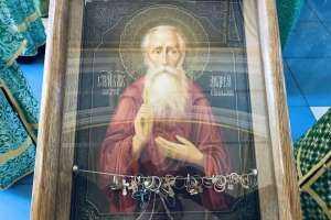 Молебен перед мощами святого блаженного Андрея