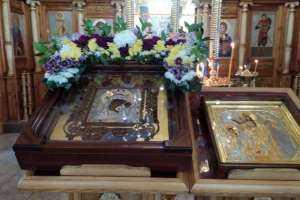 Пребывание Жадовской иконы Божией Матери в Благовещенском храме г. Ульяновска