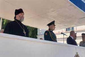Священнослужитель поздравил курсантов-связистов с 29-летием образования учебного центра