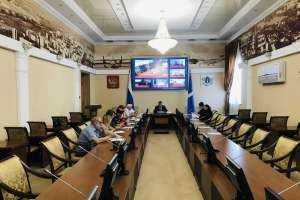 Заседание Совета по делам казачества в Ульяновской области в режиме видеоконференции