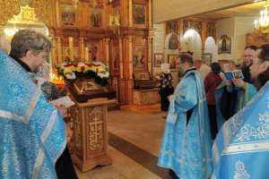 Чудотворная Казанская Жадовская икона Божией Матери посетила Благовещенский храм