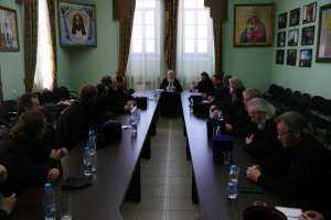 3 июля состоялось расширенное заседание Епархиального совета
