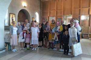 В Троицком храме города Новоульяновска подвели итоги он-лайн фестиваля «Вместе с папой»