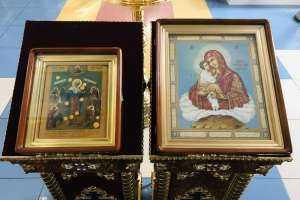В день празднования Почаевской иконе Божией Матери митрополит Иосиф возглавил богослужение в кафедральном соборе