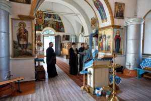 Митрополит Лонгин посетил храмы Новоульяновского благочиния