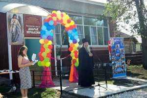 В селе Полдомасово торжественно открыли новое здание воскресной школы