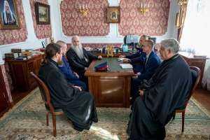 В Епархиальном управлении обсудили направления взаимодействия с казачеством