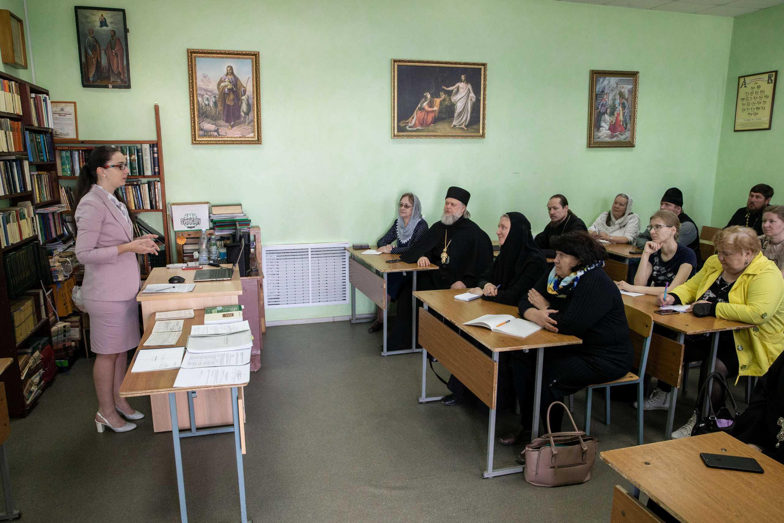 В Ульяновске начались семинары для настоятелей и бухгалтеров храмов епархии
