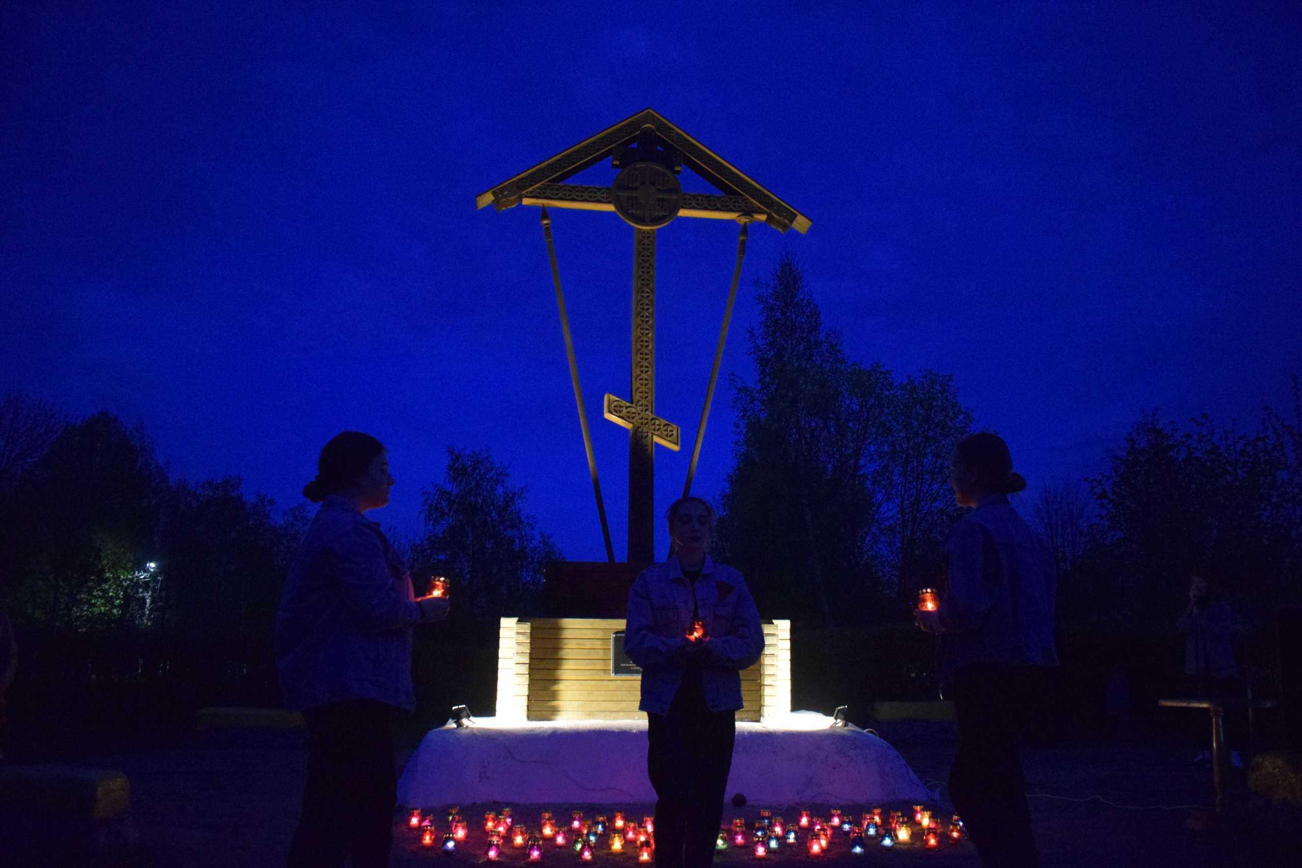 В Вешкайме почтили память односельчан - героев Великой Отечественной войны