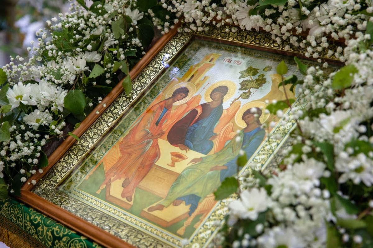 Праздник Троицы в селе Троицкий Сунгур. Видео