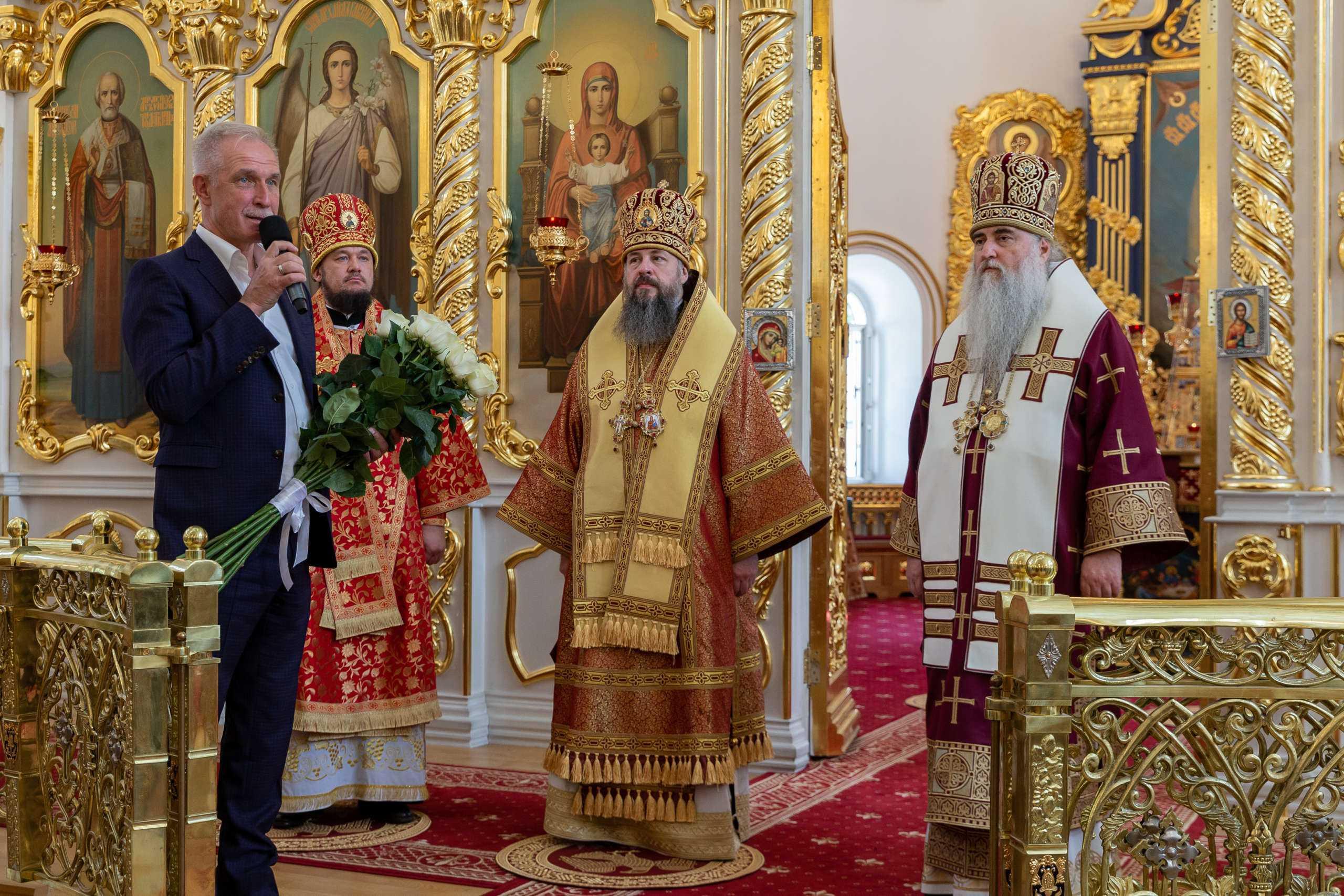 В Вознесенском кафедральном соборе состоялось соборное архиерейское богослужение