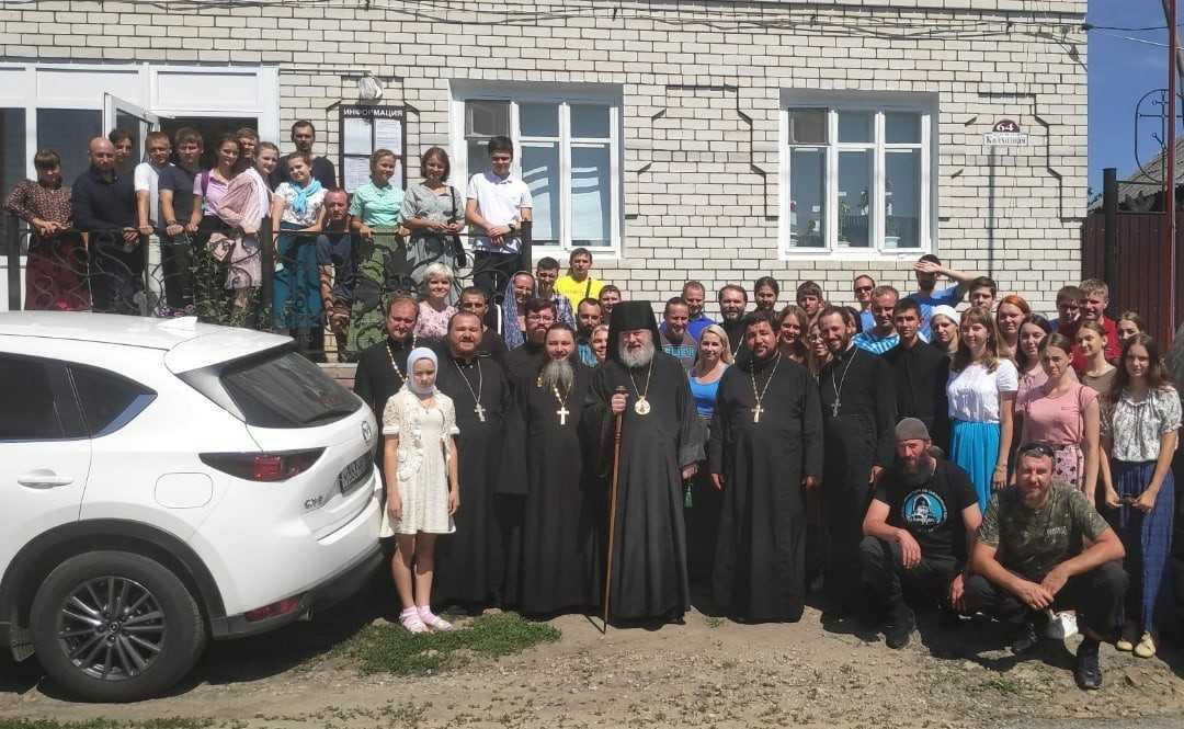 Православная молодежь Симбирска приняла участие в православном молодежном слете в р.п. Павловка